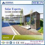 BIPVの太陽電池パネル