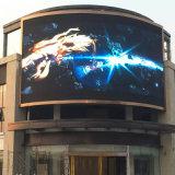 3 años de colmo de la garantía restauran la visualización video a todo color al aire libre de P10 LED