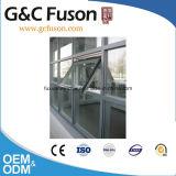 Aluminio expuesto marco de vidrio Cortina de pared de dibujo