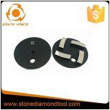 Almofadas bond de moedura do metal do assoalho concreto do diamante de Klindex