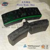 Составная тормозная колода и Block Materail для Train