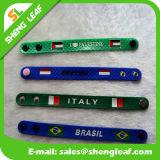 Nuovo braccialetto materiale di gomma prossimo di fascino del PVC