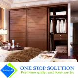 Armadi di legno rossi del guardaroba della mobilia della camera da letto del portello scorrevole di colore (ZY 2009)