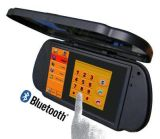 TFT LCD 7 Inch Digital Screen Car Rear View Mirror Monitor met Bluetooth en GPS Function