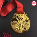 Médailles de sport gravées par 3D de coutume