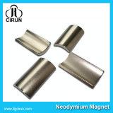 De Nickal Geplateerde Permanente Magneet van de Boog voor Elektrische Motoren