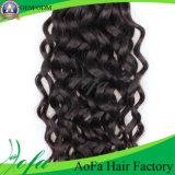 100%Unprocessed 브라질 Virgin Hair Human Hair Extension