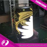 Afficheur LED rond polychrome extérieur de 360 degrés