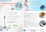 LED Examination Lamp Ks-Q7 White Wall Mounted Type Medical Light für Gp, E.N.T. Ophthalmology, Gynaecology, Theatre, Minor Operation Use