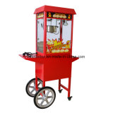 2016 de Popcorn die van de direct-Verkoop van de Fabriek Machine, de Kar van Wirh van de machine van de Popcorn maken