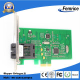 Desktop pc Fiber Optic Network Card, lan Card di PCI-E X1 100m di 100m Network