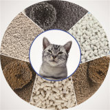 Litière du chat de bentonite pour Toliet du chat