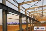 Estructura de acero con sistema completo de maquinaria automática en una sola parada