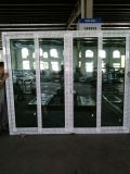 서리로 덥은, 파란 격리된 유리를 가진 60mm 시리즈 미닫이 문