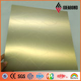 Ideabond 1220*2440mm In reliëf gemaakt Plastic Samengesteld Comité van het Aluminium (EM- 013)