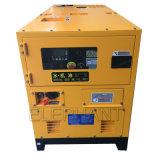 комплект генератора супер молчком силы 15kVA тепловозный