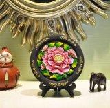 Оптовый высекать углерода украшения дома печатание Hibiscus