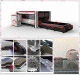 cortadora para corte de metales del laser de la fibra del CNC 1000W