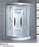 Cabine de douche en verre complète avec bac à douche ABS