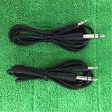 3.5mm Mono Cable до 6.35mm Stereo Audio Cable к Connector