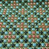 Kleurrijk het In orde maken van het Bergkristal van de Stof van het Netwerk van het Kristal Netwerk