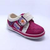 Отверстие вскользь ботинок PU ботинок младенца
