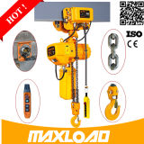 0.1t aan 1 T Mini Electric Hoist, Maxload Mini Electric Chain Hoist met Trolley, PA Hoist Lift