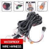luz do trabalho do diodo emissor de luz do vagem 20W (3inch, inundação difundida, IP68 Waterproof)