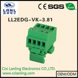 Conetor Pluggable dos blocos Ll2edg-Gbm-3.81 terminais
