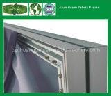 Frame van de Stof van het aluminium het Muur Opgezette