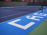 Nicecourt im Freien blockierensport, der vollkommene Anti-UV- und lange Lebensdauer ausbreitet