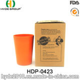A venda superior BPA livra o copo de café de bambu da fibra, copos de chá de bambu da fibra da isolação de 300ml Eco (HDP-0423)
