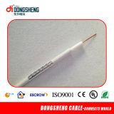 Câble de la télévision en circuit fermé Cable/CATV de l'approvisionnement Rg11 d'usine/câble coaxial de liaison