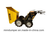 Wheelbarrow pequeno de venda quente do motor, segadoras agriculturais de Plam, mini descarregador