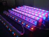 1 미터 RGB+W LED 벽 세탁기 빛, RGB+DMX 벽 세탁기 점화
