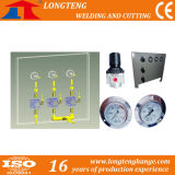 Pressure Gauge를 가진 미사일구조물 Machine Gas Regulator Panel