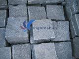 Chinois (G654) poli / Aiguisé / flammé / Bushhammered Customized Dalles / Tuiles Sesame granit noir pour Curbstone / balustre / Watergrate