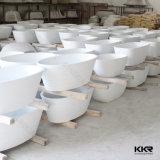 Banheira ereta livre da superfície contínua da mobília do banheiro