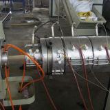 Einzelne Schraube Plastik-PET Rohr-Strangpresßling-Maschine des Extruder-Sj65