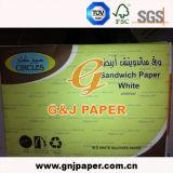 Papier de empaquetage de sulfite blanc de magnésium de prix concurrentiel pour l'approvisionnement de Mcdonald