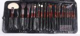 プライベートラベル22PCS Wood Handle Professional Makeup Brush Set