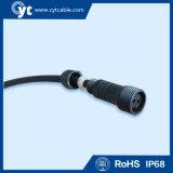 IP68 6 кабель разъема Pin СИД водоустойчивый с мужчиной и разъём-розетка