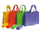 Vario bolso no tejido colorido de la tela para la ropa