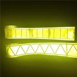 Ruban cristallin réfléchissant à haute visibilité pour vêtements / rayures réfléchissantes Échantillon gratuit
