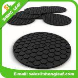 安い高品質の柔らかいゴム製シリコーンのコースター(SLF-RC038)