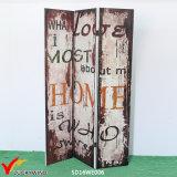 غلّة كرم فرنسيّون 3 لوح [فولدينغ دوور] [رووم ديفيدر] خشبيّة