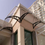 Lexan Polycarbonat-Markisen-schützendes Fenster