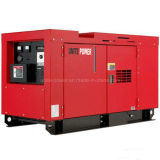 generador diesel impermeable silencioso de la potencia 30kVA del motor refrigerado por agua primero de Yuchai