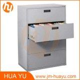 Шкаф для картотеки хранения ориентированных на заказчика ящиков офиса 4 цветов стальной