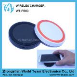 Mini carregador sem fio redondo novo de Qi para acessórios do telefone móvel